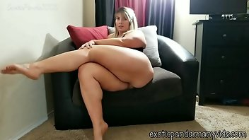 hot bbw woman with little man
